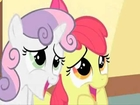 Sweetie Belle and Applebloom - Aww