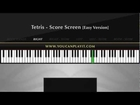 Tetris - Score Screen [Easy Piano Tutorial]