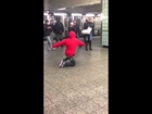 Jojo dancer train station stopper!