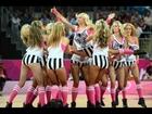 Cheerleaders at London Olympics 2012