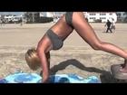 Hot Sexy Bikini Female Models Beach Booty Workout