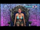 Big Brother13 UK Ashleigh Hughes Cleavage Upshorts