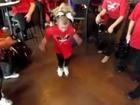 Charlotte - our adorable Truman Rams Cheerleader