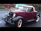 1934 Chevrolet DC Standard Sport Roadster - 10/27/2012