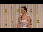 Jennifer Lawrence wins best actress Oscar