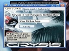 Crysis 2 Serial Key 2013 PC XBOX PS3