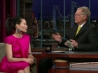 Lucy Liu On David Letterman