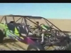 Nine Year Old Drives Dune Buggy