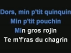 Dors  min p tit Quinquin karaoké