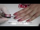 Tutorial Nail Manicure Dégradé come applicarli l Trendynail per PUPA Nail Academy
