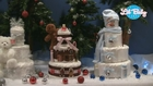 Holiday Diaper Cakes