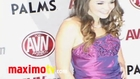 ALLIE HAZE at 2011 AVN AWARDS Red Carpet Arrivals