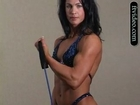 incredibly sexy female fitness great muscle lean
