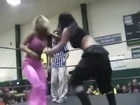 Miss april(AJ Lee),brooke carter vs Roxxie Cotton WSU tag team championship
