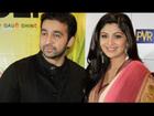 Shilpa Shetty & Raj Kundra Attends English Vinglish Premiere !