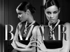 Interview with Skyfall James Bond Girl, Bérénice Marlohe, on the set of Benjamin Kanarek for Harper's BAZAAR