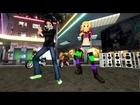 MMD Gangnam style MikuMikuDance Keyoki Zukoree And Green Fighter
